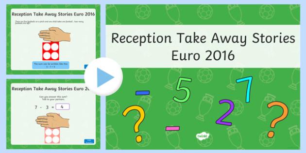Reception Take Away Stories Euro 2016 Theme PowerPoint-Welsh