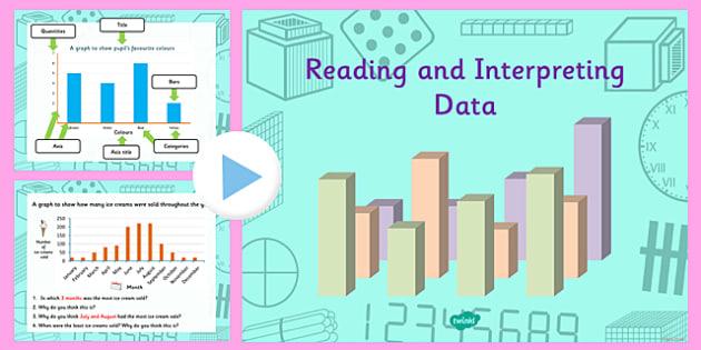 Year 4 Interpreting Data Task Setter PowerPoint - task setter