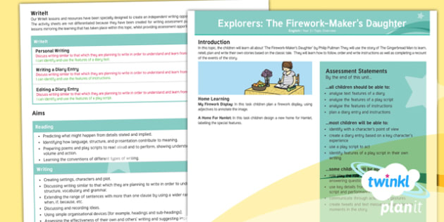 Explorers: The Firework-Maker's Daughter Y3 Overview To Support Teaching on 'The Firework-Maker's Daughter' - Lyla, his dark materials, Chinese new year, asia, adventure story