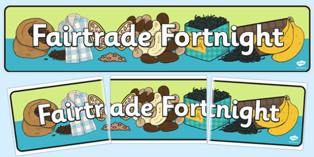 Fairtrade Fortnight Display Banner - fairtrade, display, banner