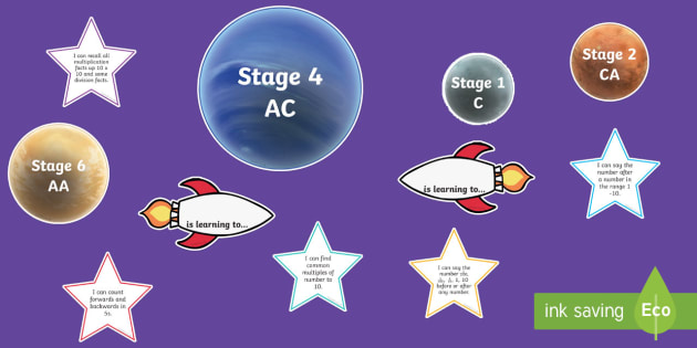 Number Knowledge Rockets Display Cut Outs - Number Knowledge Rockets, counting, targets, assessment