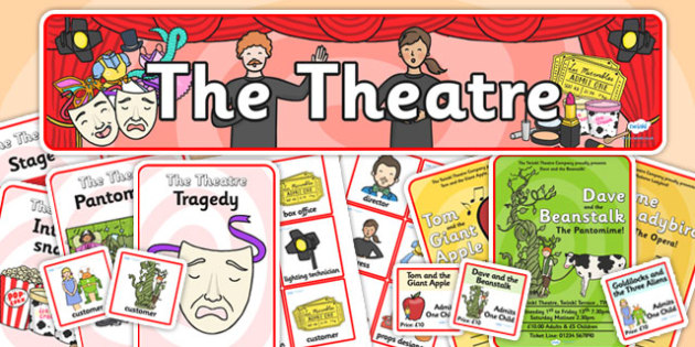 The Theatre Role Play Pack-the theatre, role play, pack, the theatre pack, role play pack, pack, the theatre role play, role play materials