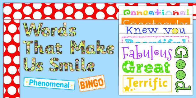 Ready Made Words That Made Us Smile Display Pack - ready made