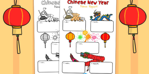 Chinese New Year Event Writing Report - australia, writing, event