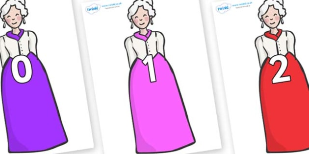 Numbers 0-100 on Dames - 0-100, foundation stage numeracy, Number recognition, Number flashcards, counting, number frieze, Display numbers, number posters