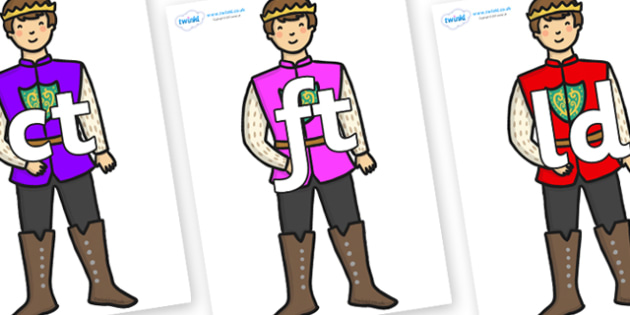 Final Letter Blends on Sleeping Beauty Prince - Final Letters, final letter, letter blend, letter blends, consonant, consonants, digraph, trigraph, literacy, alphabet, letters, foundation stage literacy