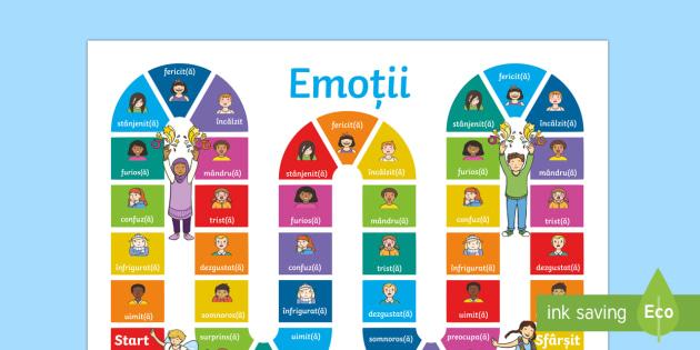 Emoții Joc de masă