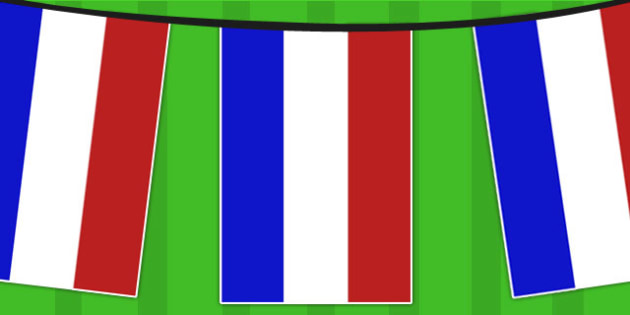 Netherlands Flag Bunting - countries, geography, flag, country
