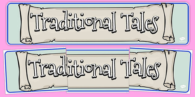 Traditional Tales Display Banner - traditional tales, display banner, display, banner