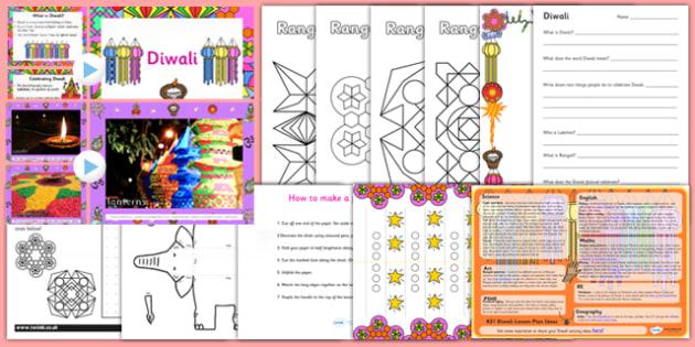 KS1 Diwali Teaching Resource Pack - diwali, resources, pack, ks1