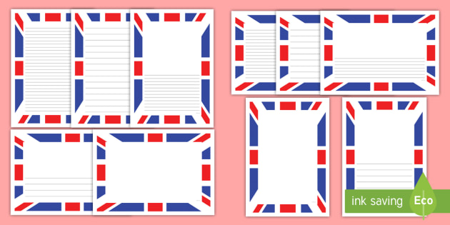 union flag page border pack flag great britain uk union