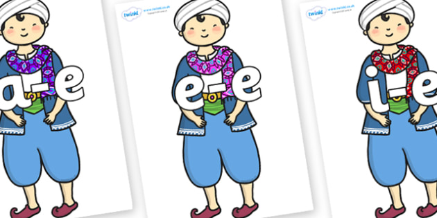 Modifying E Letters on Rich Aladdin - Modifying E, letters, modify, Phase 5, Phase five, alternative spellings for phonemes, DfES letters and Sounds