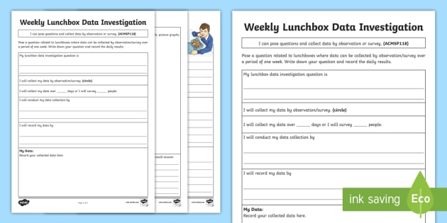 1st Grade Graphing & Data Worksheets & Free Printables | Education.com