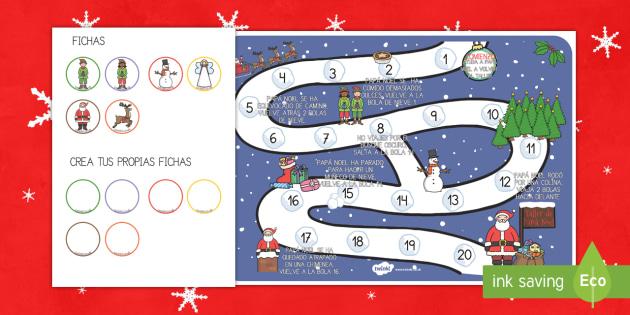 Juego de mesa - La Navidad - navidad, navideño, juego, juego navideño, juego de mesa.