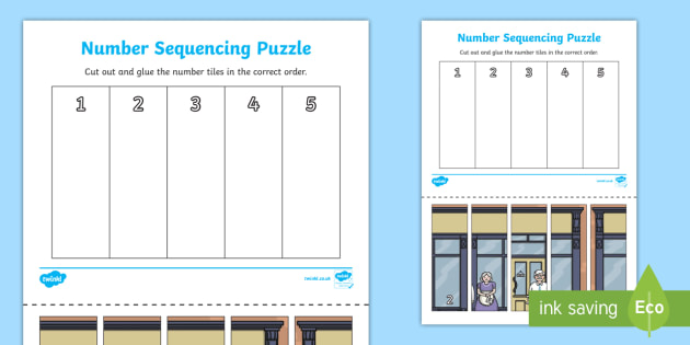 The Elves and the Shoemaker Number Sequencing Puzzle - puzzle