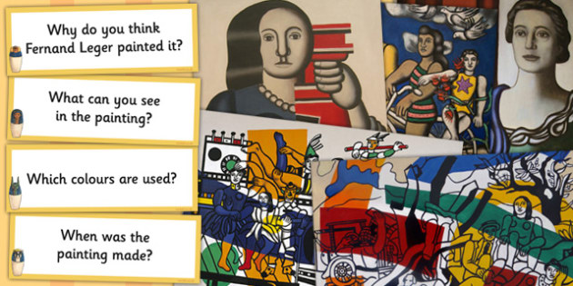 Fernand Leger Photopack and Prompt Questions - photos, prompts
