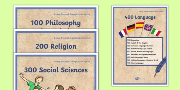 Dewey Decimal Categories Display Posters - reading, books, reading area, library , libary, libray, reding, ks2, ks3, ordering, books, topics