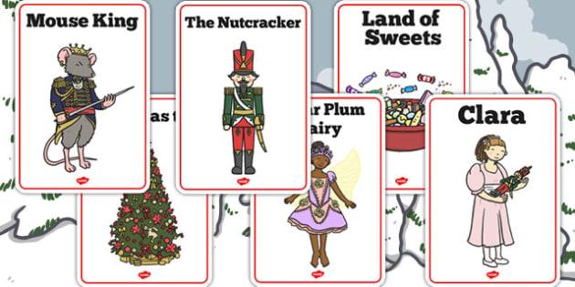 The Nutcracker Display Posters - nutcracker, display, posters