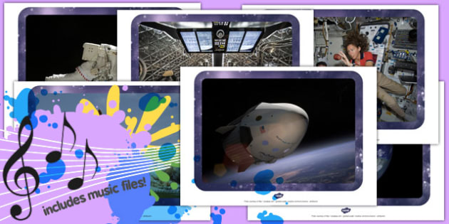 Space Photographs and Sound Clips Resource Pack - space, pack