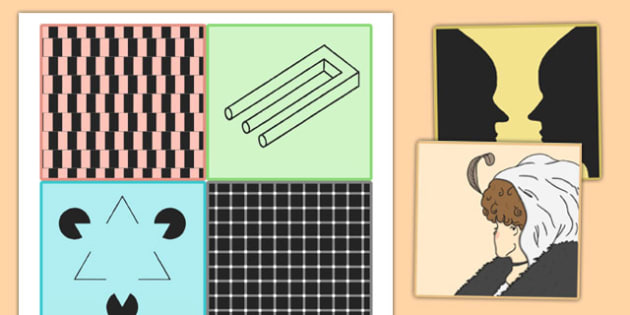 Optical Illusions Cards - optical, illusions, cards, optical illusions