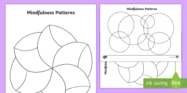 This is a picture of Free Printable Zentangle Worksheets in art activity