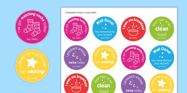 Teacher Stickers - teacher stickers, teacher, stickers, achieve, congratulate, well done, confidence boost, funny, laugh