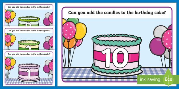 Superb Birthday Cake Playdough Mats Teacher Made Personalised Birthday Cards Veneteletsinfo