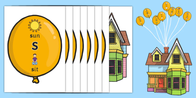 Phase 2 Phonic Balloons Display Pack