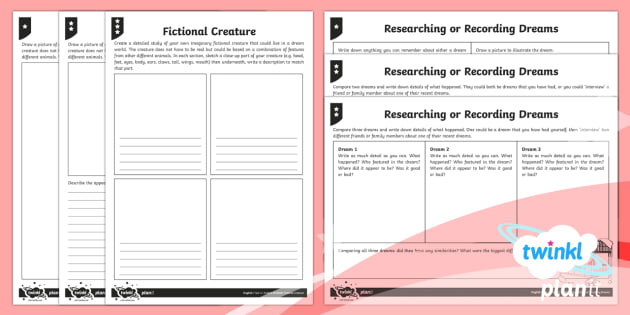 Explorers: Dreams and Anders Arnfield Y6 Home Learning Tasks - Anders Arnfield, myths and legends, dreams, discussion texts, argument text, blog, social media, homework