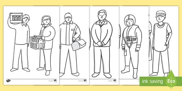 Menschen Die Uns Helfen Ausmalbilder Rettungsarbeiter