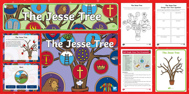 The Jesse Tree Resource Pack - christmas, jesse tree, bible, resource roi, RE, religious education, new testament, old testament