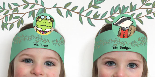 The Wind in the Willows Role Play Headband - dress, activity
