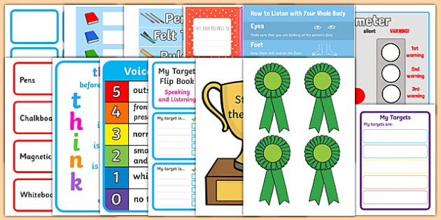 Classroom Ideas For Nqt ~ Probationer classroom set up pack second level probationers