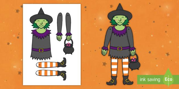 Split Pin Witch Activity