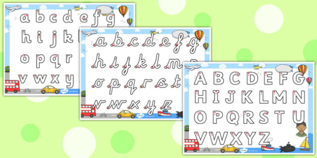 Transport Themed Letter Writing Worksheet - letter, writing