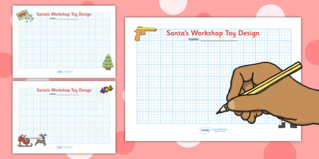 Christmas Themed Toy Design Sheets - christmas, design, art
