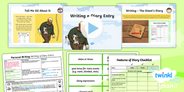 Plants: Jack and the Beanstalk: Personal Writing 2 Y3 Lesson Pack - Traditional stories, life processes, living things, explanation texts, seed