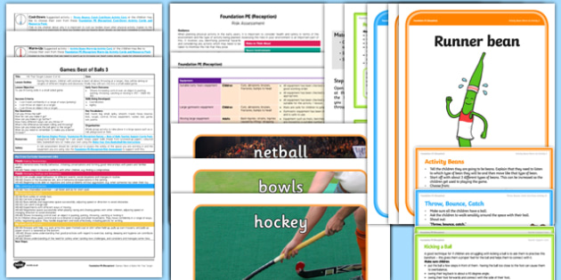 Foundation PE (Reception) - Games - Best of Balls Lesson pack 3: Hit the Target - EYFS, PE, Physical Development, Planning