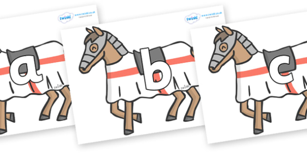 Phoneme Set on Horses - Phoneme set, phonemes, phoneme, Letters and Sounds, DfES, display, Phase 1, Phase 2, Phase 3, Phase 5, Foundation, Literacy