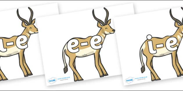 Modifying E Letters on Antelope - Modifying E, letters, modify, Phase 5, Phase five, alternative spellings for phonemes, DfES letters and Sounds