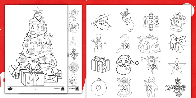 Mindful Christmas Colouring Teaching Resources