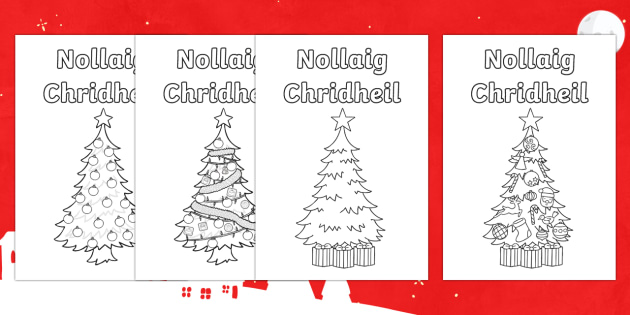CfE Christmas Card Paper Craft-Scottish - CfE Christmas card Scottish Gaelic ,Scottish - CfE Christmas card Scottish Gaelic ,Scottish