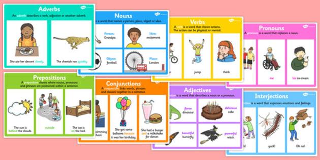 Word Type Display Poster Pack Display Posters Display Pack