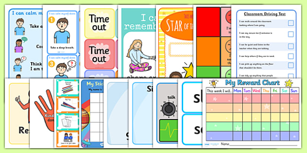 Classroom Ideas For Nqt ~ Nqt behaviour management resource pack