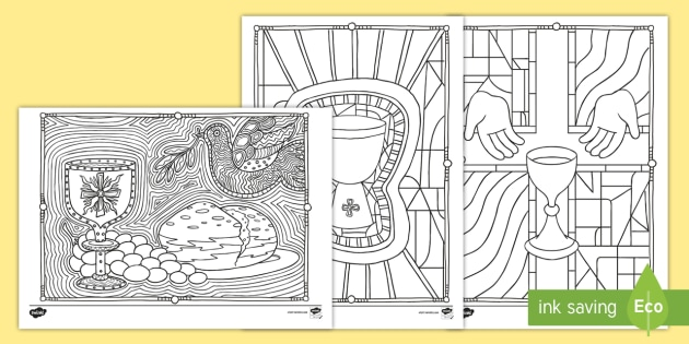 - Communion Mindfulness Coloring Pages (teacher Made)