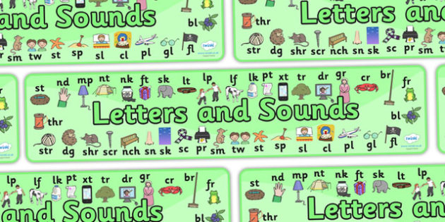 Phase 4 Display Banner - Phase 4, phase four, Phases, Foundation, Literacy, Letters and Sounds, display banner, Alphabet, A-Z letters, Alphabet flashcards, letters and sounds, DfES, display