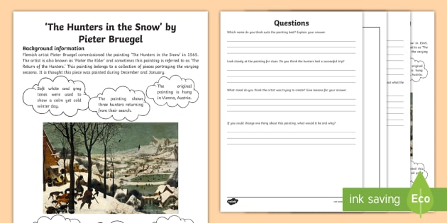 wolffs hunters in the snow english literature essay Make sure you have an access to the biggest essays, term papers / literature / english hunters in the snow is a compelling story that gives readers the.