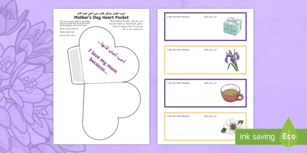Heart diagram arabic english auto wiring diagram today mother s day heart pocket activity sheet arabic english ks1 rh twinkl co uk simple heart diagram animal heart diagram ccuart Gallery