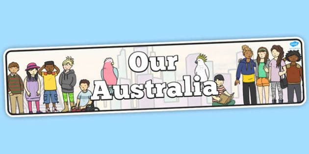 Our Australia Display Banner - australia, display banner, display