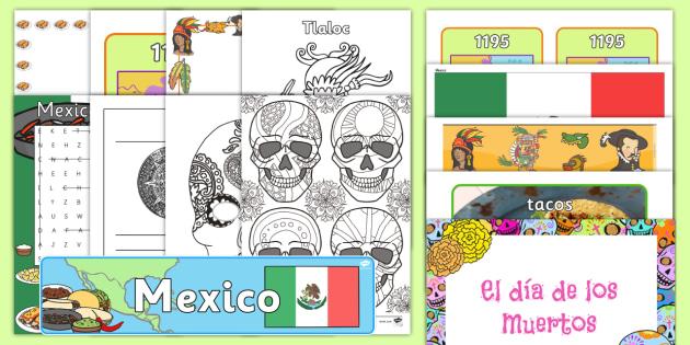 Mexico Celebration Resource Pack - International, staff, residents, celebration, culture, the world, diversity, ideas, care homes, elde
